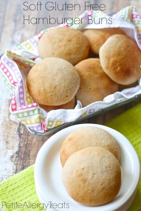 Soft Hamburger Buns from Petite Allergy Treats