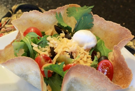Taco Shell Salad Carol Fenster