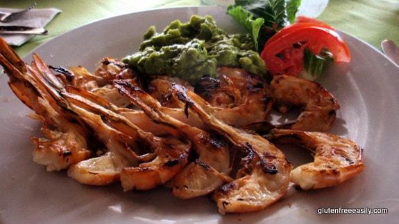 Garlic Shrimp Casa del Mar Cozumel