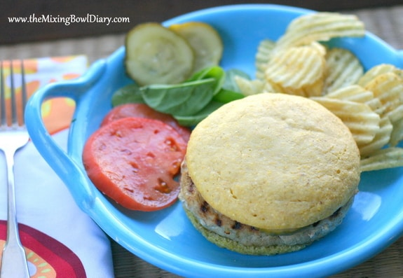 Gluten-Free Cornbread Hamburger Rolls The Mixing Bowl Diary