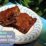 Banana Nut Chocolate Chip Brownies (Grain-Free)