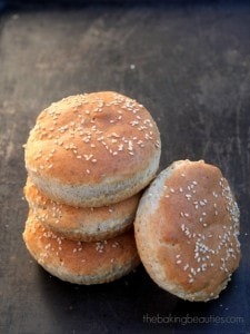 Gluten-Free Hamburger Buns The Baking Beauties