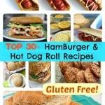 Top 30+ Best Gluten-Free Hamburger Roll Recipes and Hot Dog Roll Recipes