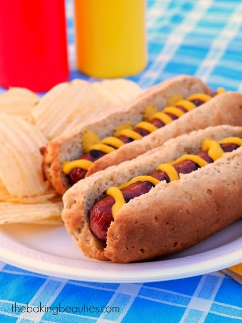 Gluten-Free Hot Dog Buns The Baking Beauties