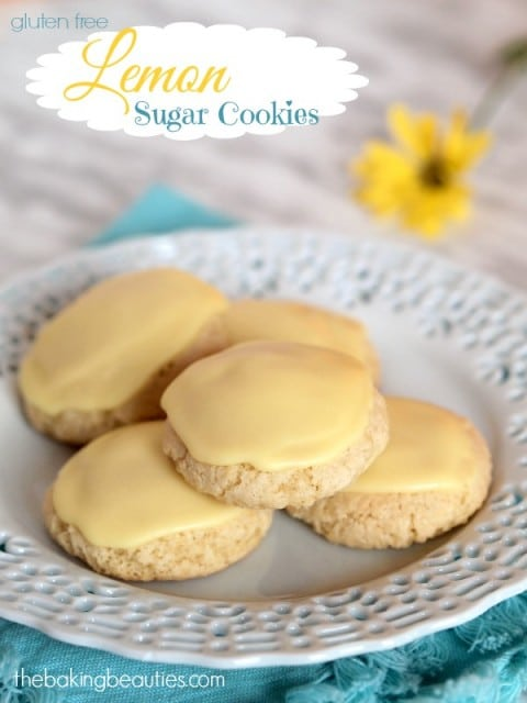 Lemon Sugar Cookies The Baking Beauties