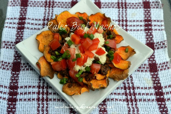 Paleo Beef Nachos Sandi's Allergy-Free Recipes