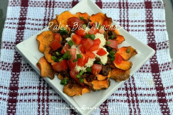Paleo Beef Nachos Sandi's Allergy-Free Recipes