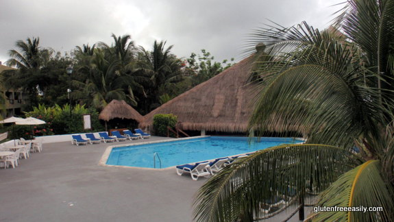The Pool Right Beside The Restaurant, The Palapa, Which Is on a Lower Level, Casa del Mar Cozumel