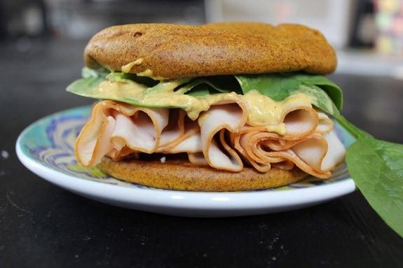 Sweet Potato Sandwich Buns Predominantly Paleo