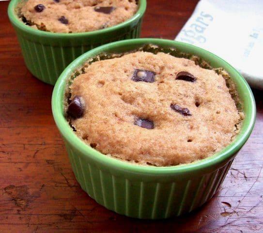 Banana Microwave Muffins Free Range Cookies
