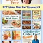 "Gluten-Free EXTREME (GFE) ""Library Clean-out"" Cookbook Giveaway #1"