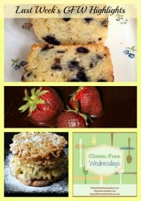 Gluten-Free Wednesday Highlights Blueberry Pound Cake Paleo Funnel Cake Chocolate-Covered Strawberries