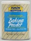 Hain Featherweight Corn-Free Grain-Free Baking Powder
