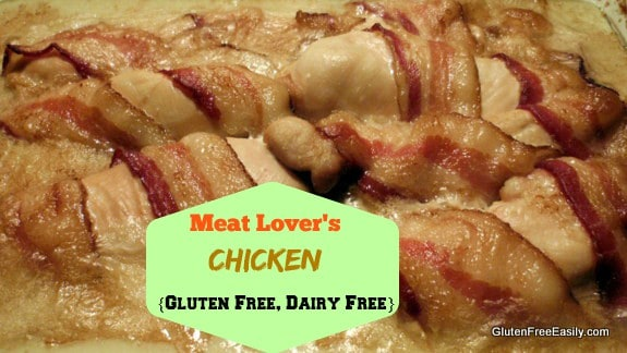 Meat Lover's Chicken Ready to Eat Gluten Free Easily
