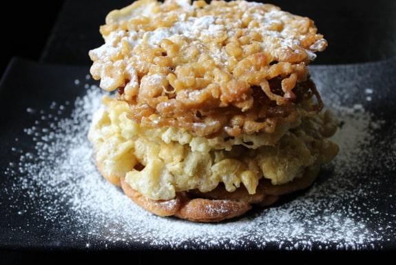 Paleo Grain-Free Funnel Cakes Predominantly Paleo