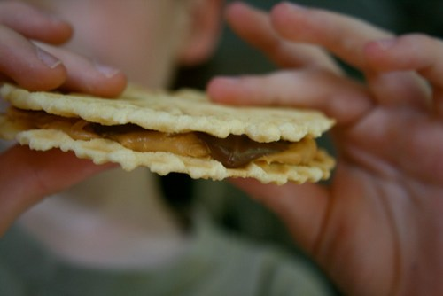 Pizzelle Ice Cream Sandwiches