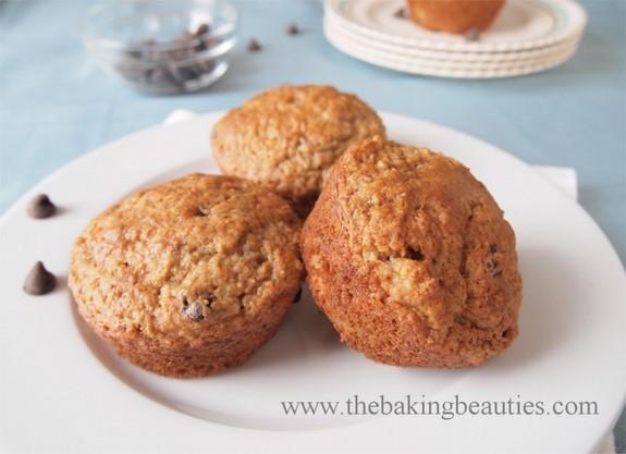 Gluten-Free Nut-Free Banana Chocolate Chip Muffins The Baking Beauties