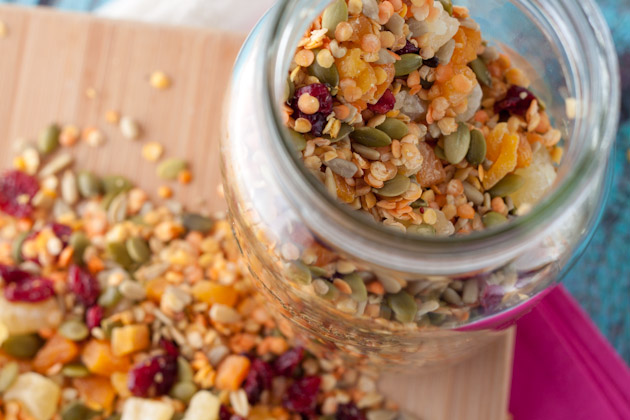 Gluten-Free Nut-Free Beach Bum Trail Mix from Healthful Pursuit