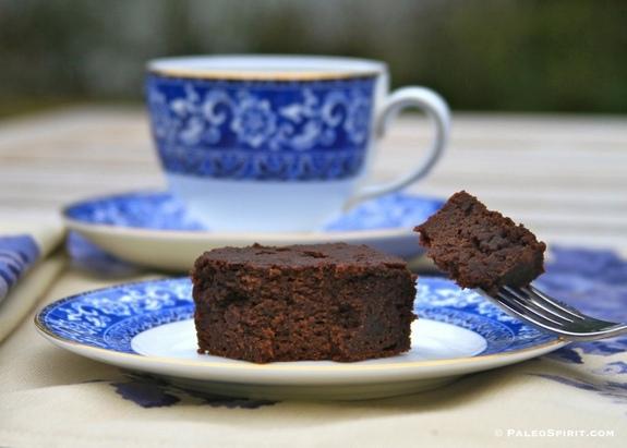 Gluten-Free Nut-Free Paleo Chocolate Snack Cake from Paleo Spirit