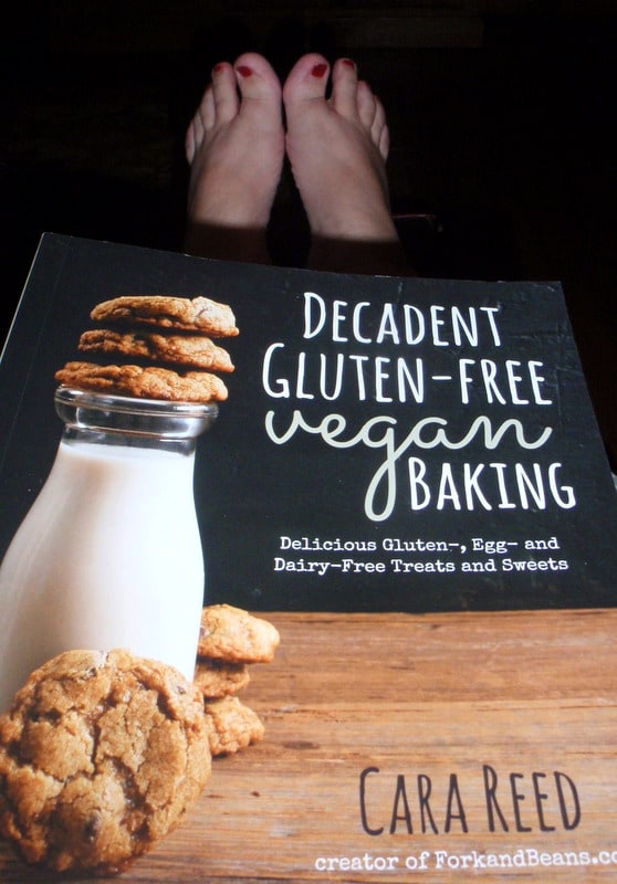 Decadent Gluten-Free Vegan Baking Cara Reed Fork and Beans