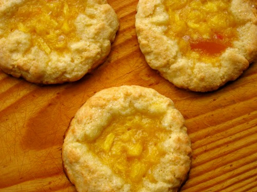 Georgia Peach Pie Cookies (Gluten Free, Dairy Free) from The Non-Dairy Queen [featured on AllGlutenFreeDesserts.com]