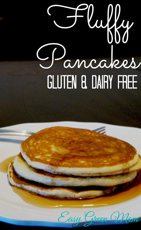Gluten-Free Fluffy Pancakes Easy Green Mom