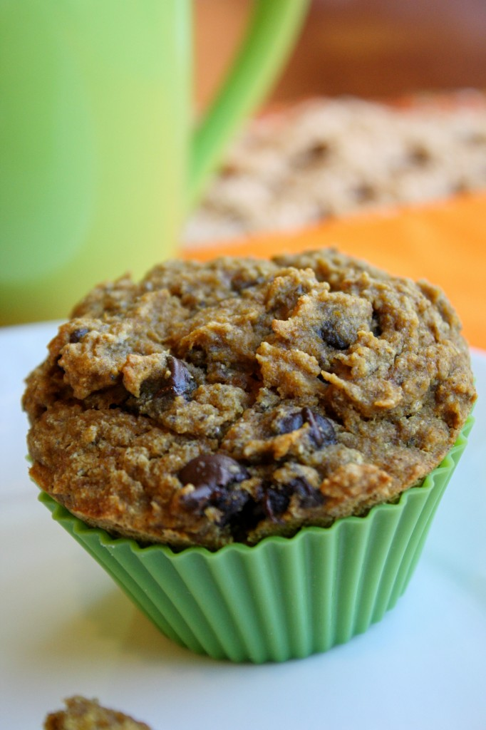 Gluten-Free Nut-Free Pumpkin Chocolate Chip Muffins Tessa The Domestic Diva