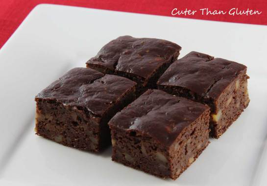 Grain-Free Nut-Free Brownies Cuter Than Gluten