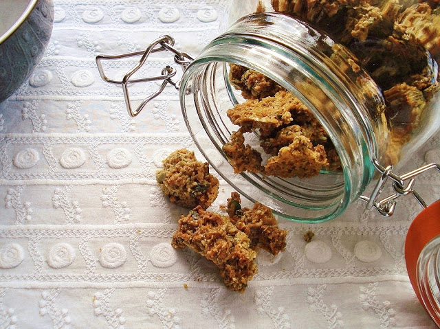 Grain Free & Nut Free Crunchy Cereal Gluten Free SCD and Veggie