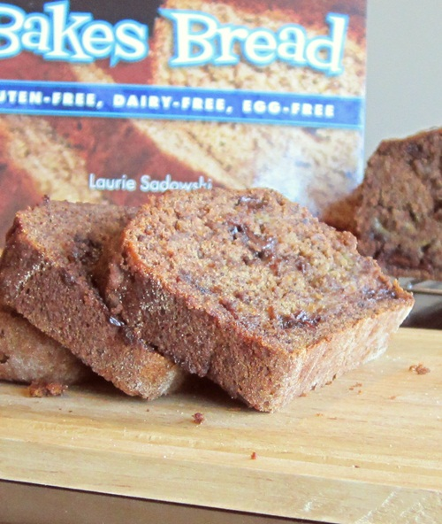 Gluten-Free Nut-Free Maple-Sweetened Banana Bread Go Dairy Free