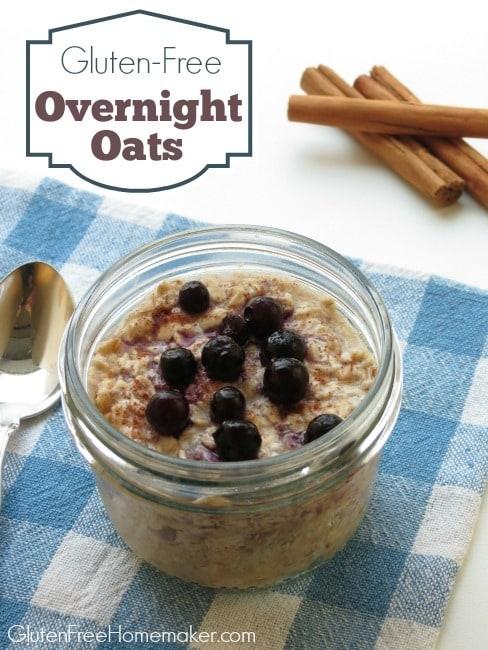 Overnight Oats The Gluten-Free Homemaker