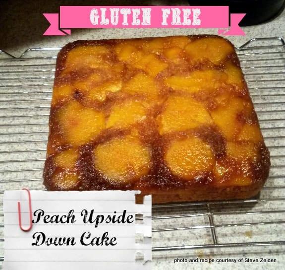 Peach Upside Down Cake from Steve Zeiden