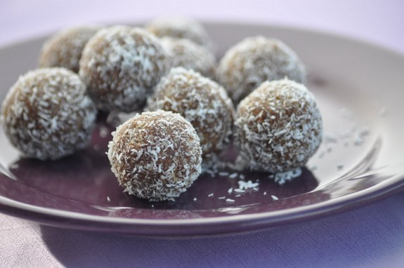 Raw Gluten-Free Nut-Free Cinnamon Sunflower Truffles Nourishing Meals