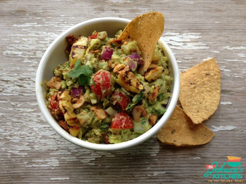 Roasted Pineapple Bacon Guacamole In Johnna's Kitchen