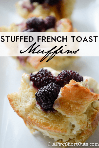 Gluten-Free Stuffed French Toast Muffins