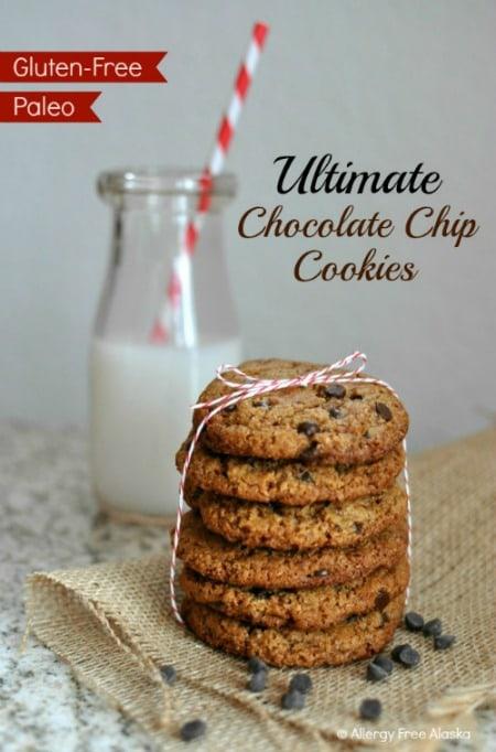 Grain-Free Paleo Ultimate Chocolate Chip Cookies Allergy Free Alaska