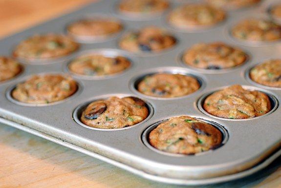Gluten-Free Nut-Free Zucchini Chocolate Chip Muffins from Elana's Pantry