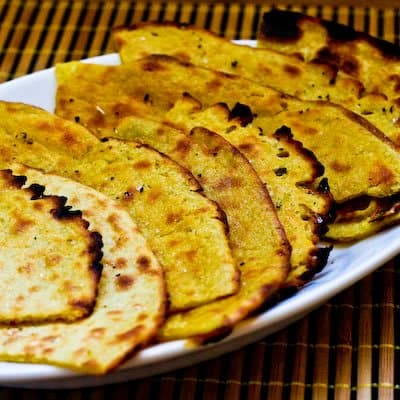 Gluten-Free Chickpea Flatbread Socca Kalyn's Kitchen
