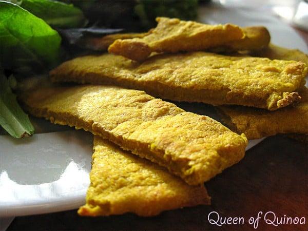 Gluten-Free Curried Quinoa Flatbread Simply Quinoa