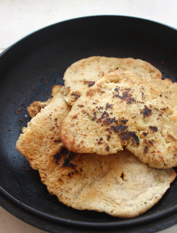Gluten-Free Naan from Worth Cooking