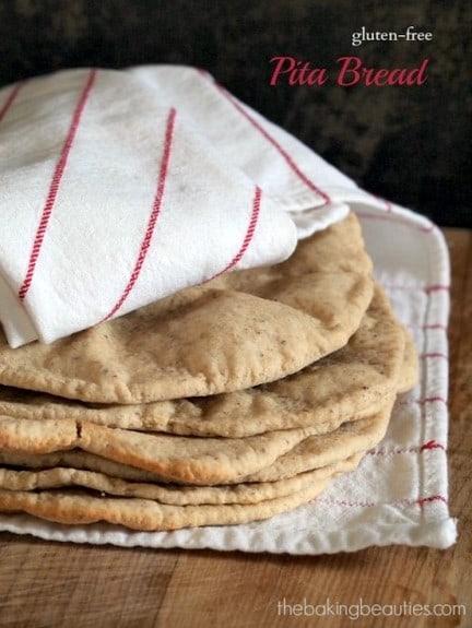 Gluten-Free Pita Bread The Baking Beauties