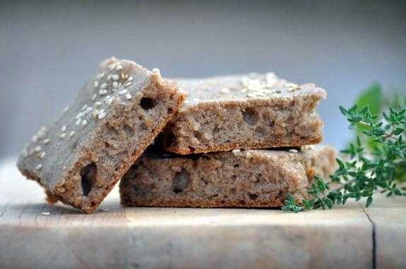 Gluten-Free Vegan Flatbread from Nourishing Meals