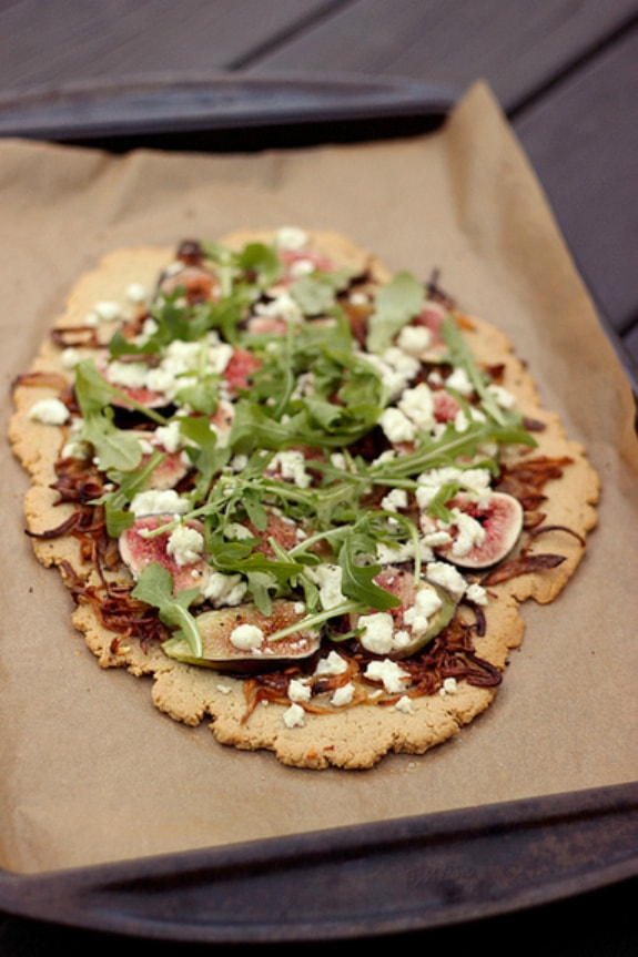 rain-Free Flatbread with Figs and More Tasty Yummies