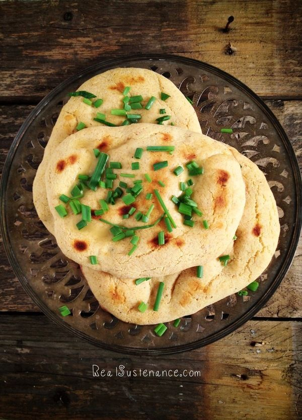 Grain-Free Paleo Naan from Brittany Angell