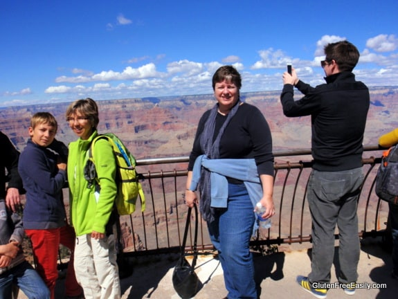 Me (and a few others) at the Grand Canyon