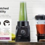 Vitamix S30 Black Personal Blender Container Comparison