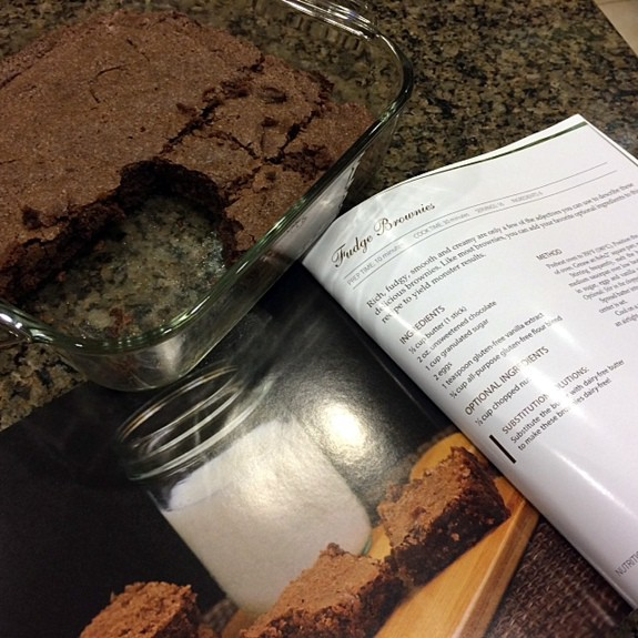 Gluten-Free Fudge Brownies from Sweet & Simple Gluten-Free Baking