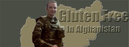 Captain Ben Andrasik Gluten Free in Afghanistan