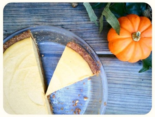 No-Bake Pumpkin Cheesecake from Gluten-Free Fix