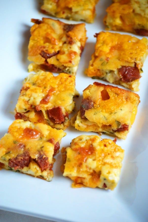Gluten-Free Pepperoni Squares What the Fork Food Blog